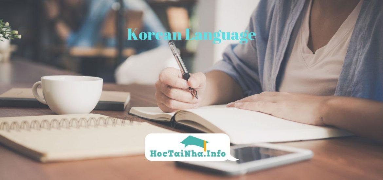 Cách Tự Học Tiếng Hàn Online Hiệu Quả Cho Người Mới Bắt Đầu