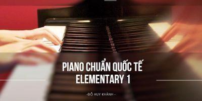 khoá học piano online chuẩn quốc tế elemrntary 1